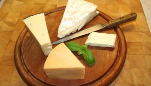 Le pourcentage de matières grasses dans les fromages